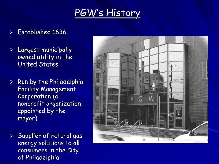 PGW's