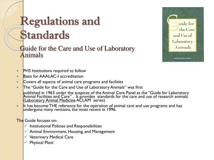 Regulations and
