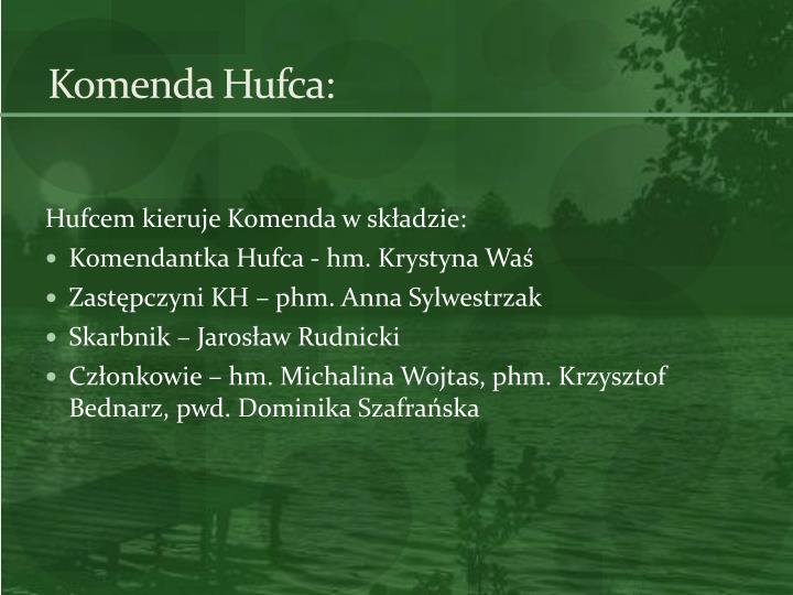Komenda Hufca: