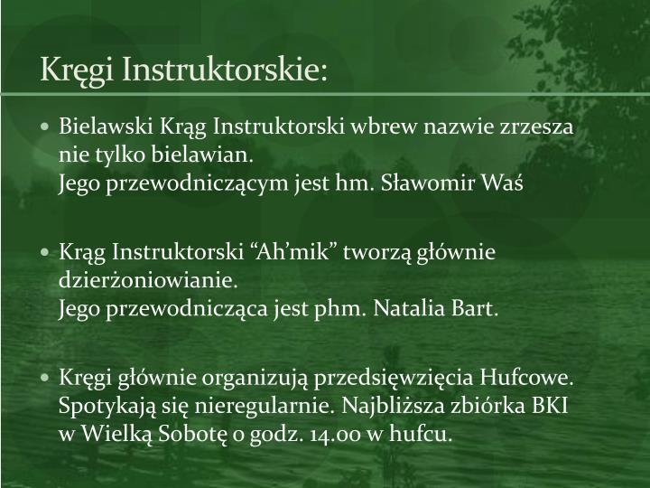 Kręgi Instruktorskie: