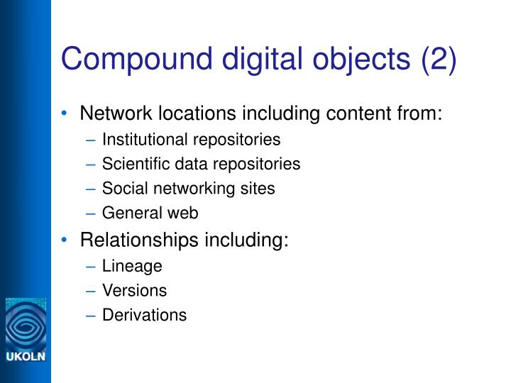 Compound digital objects (2)