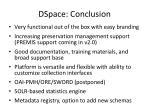 dspace conclusion