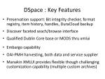 dspace key features