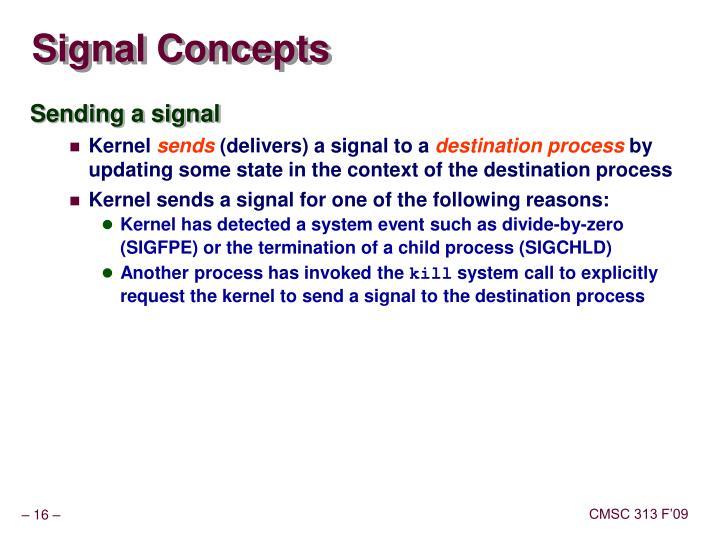 Signal Concepts