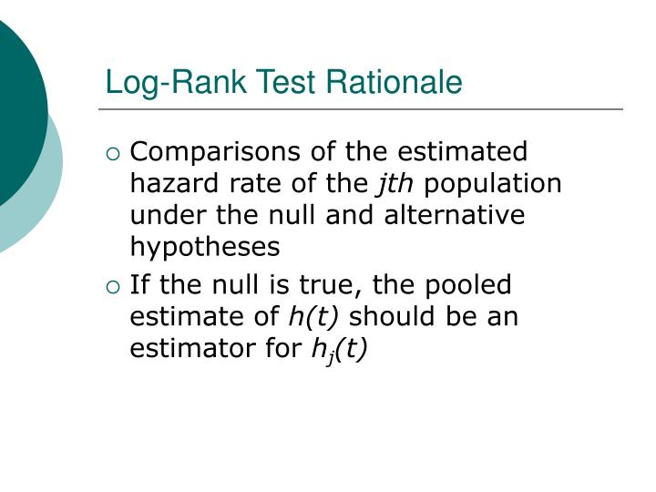Log-Rank Test Rationale