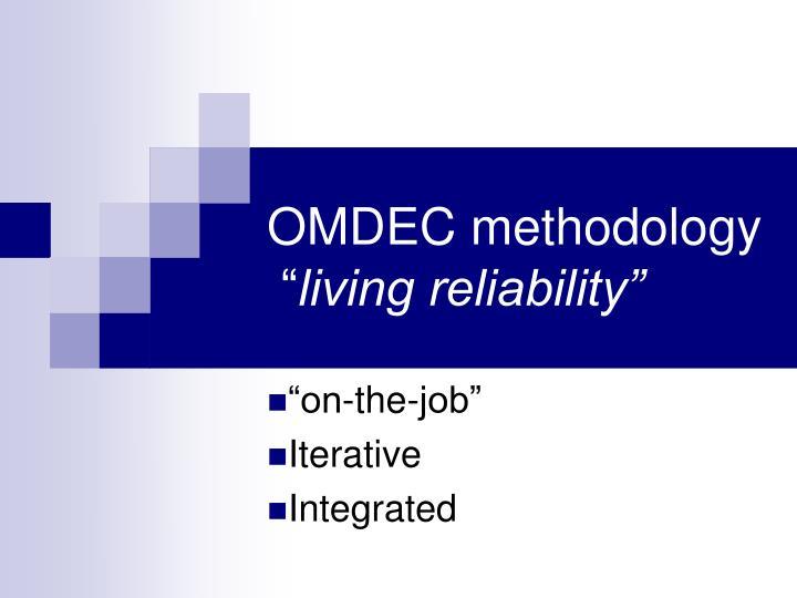 OMDEC methodology