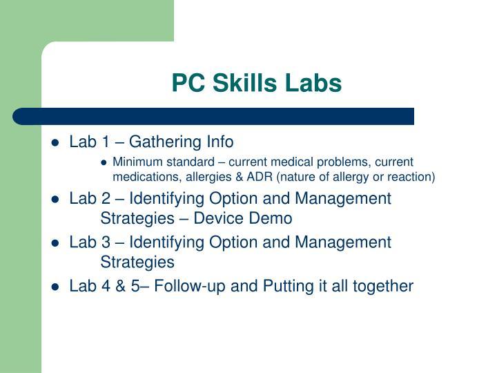 PC Skills Labs