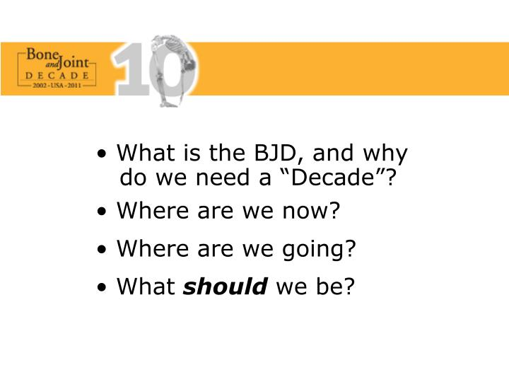 What is the BJD, and why
