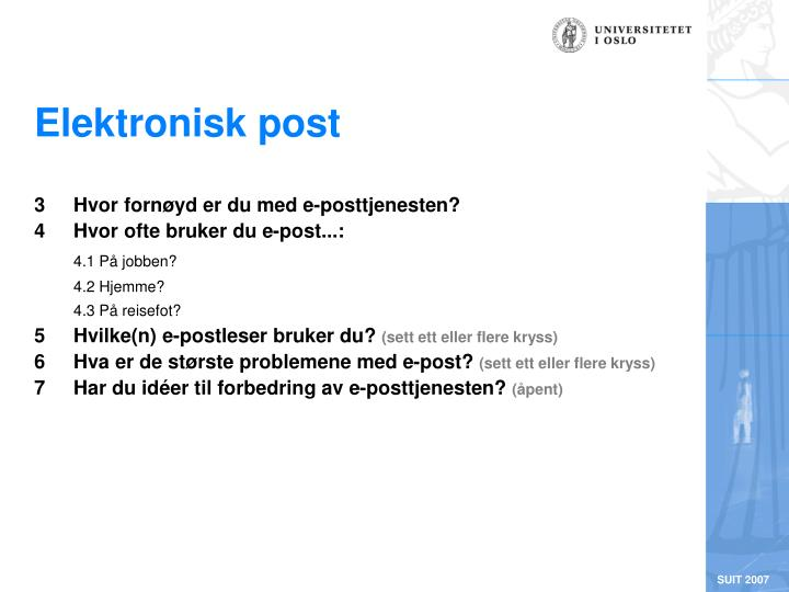 Elektronisk post
