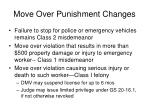 move over punishment changes