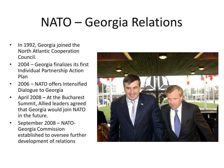 NATO – Georgia Relations