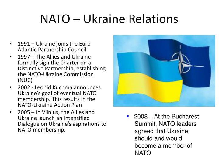 NATO – Ukraine Relations
