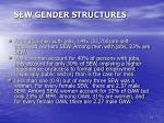 sew gender structures