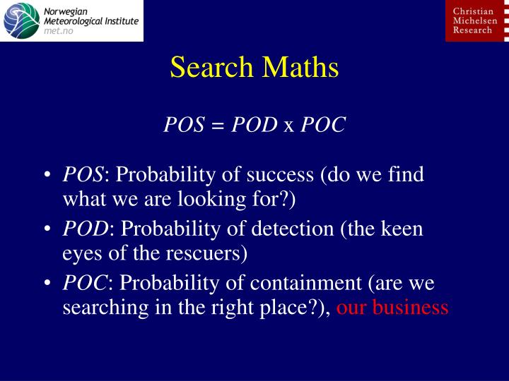 Search Maths