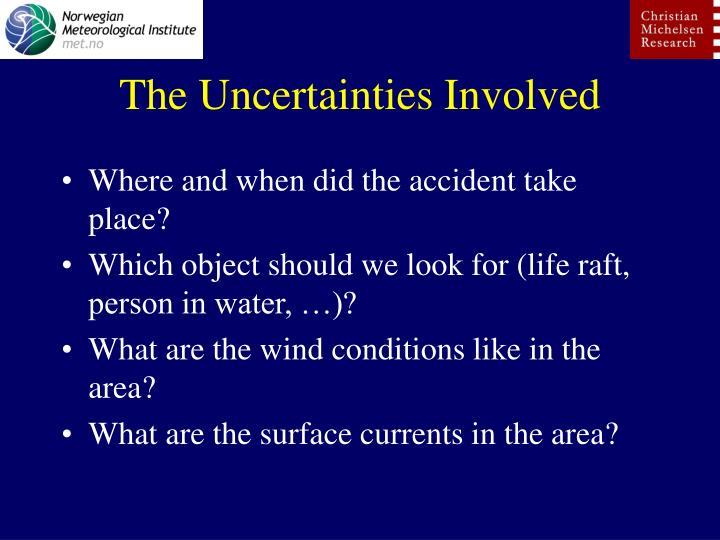 The Uncertainties Involved