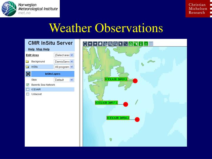 Weather Observations