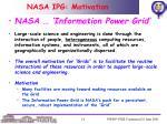 nasa ipg motivation