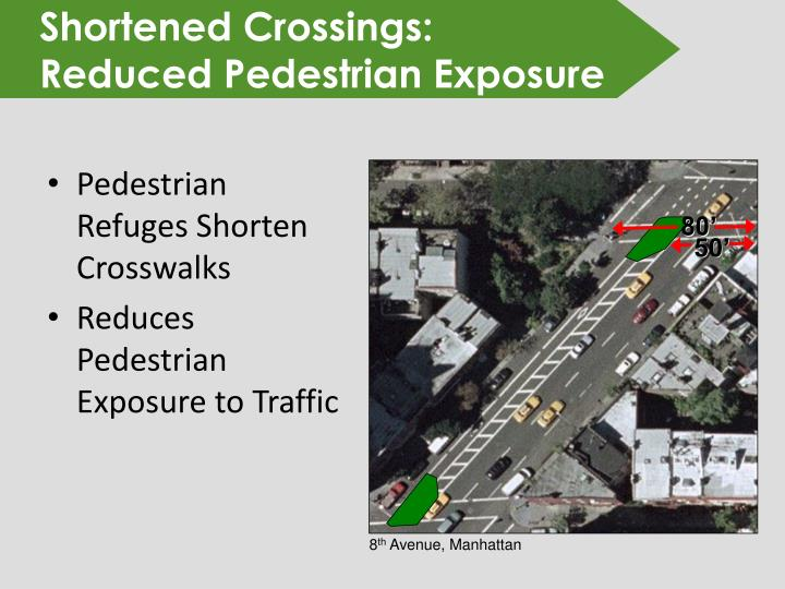 Shortened Crossings: