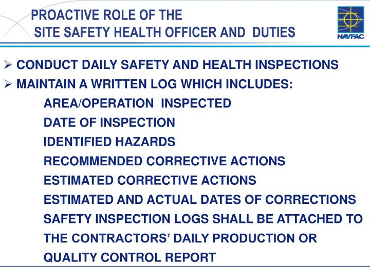 health and safety roles and 2 to understand and ensure, through the appointment of competent persons, that  the company's responsibilities as employers under the health and safety at.