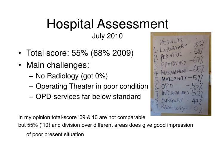 Hospital Assessment