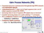 kahn process networks pn