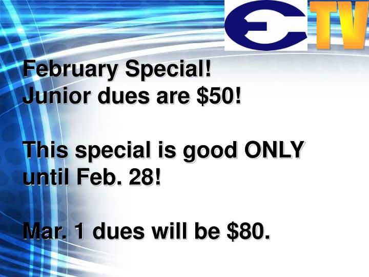February Special!