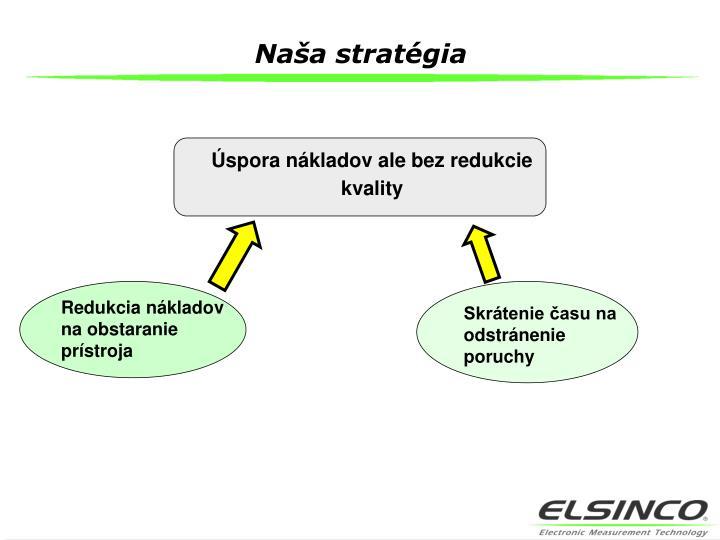 Naša stratégia