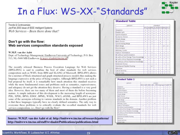 "In a Flux: WS-XX-""Standards"""