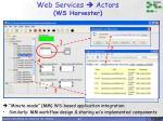 web services actors ws harvester