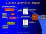 generic operational model