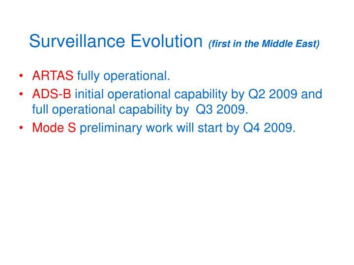 Surveillance Evolution