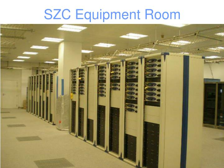 SZC Equipment Room