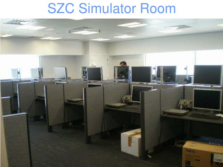 SZC Simulator Room