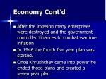 economy cont d1