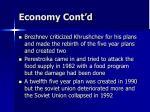 economy cont d2