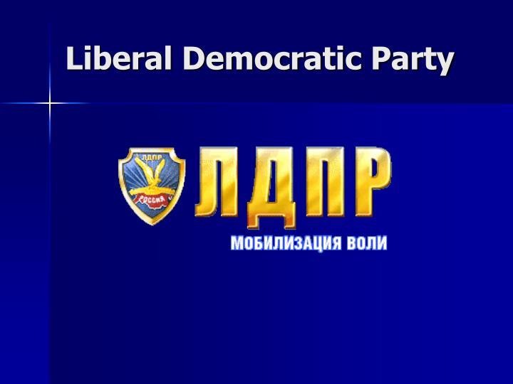 Liberal Democratic Party