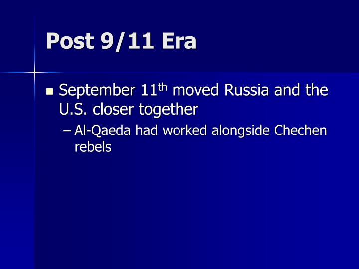 Post 9/11 Era