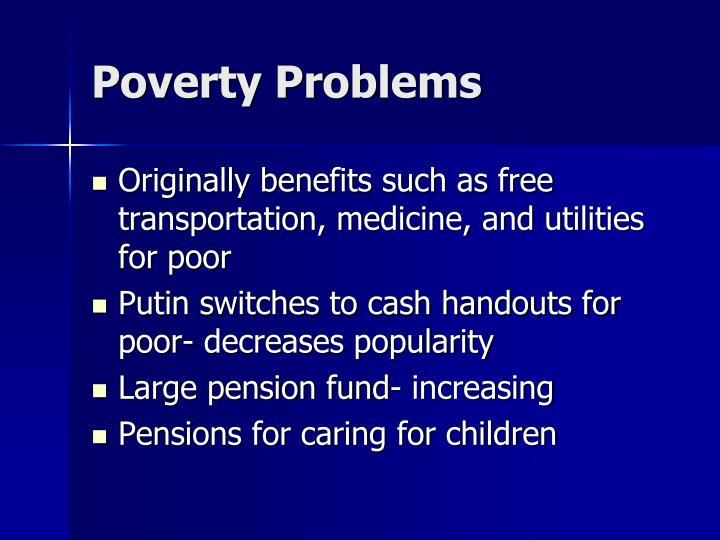 Poverty Problems