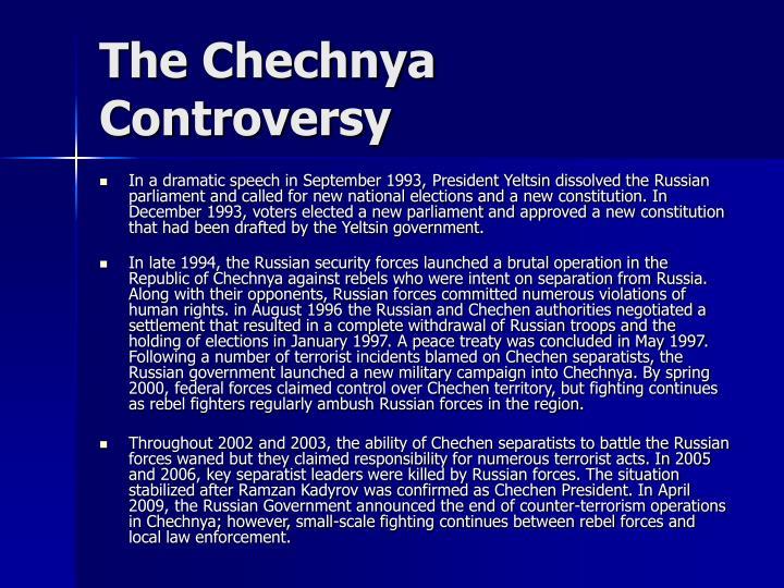 The Chechnya Controversy