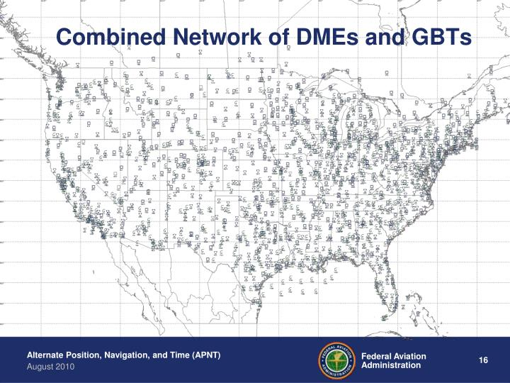 Combined Network of DMEs and GBTs