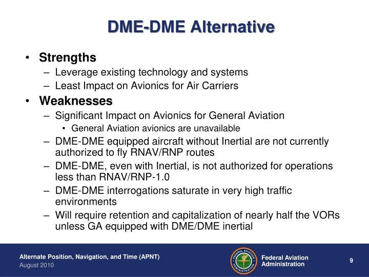 DME-DME Alternative