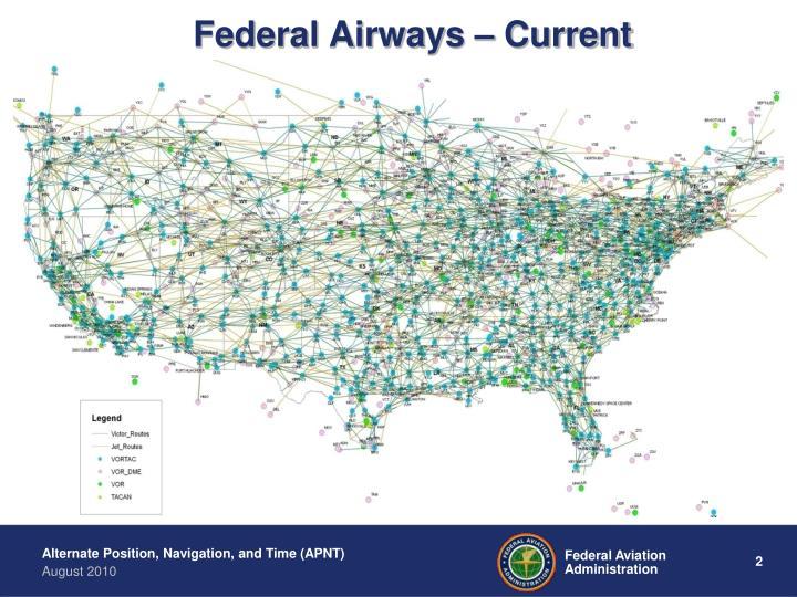 Federal Airways – Current
