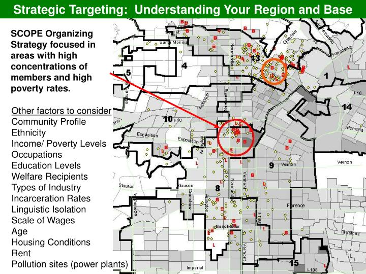 Strategic Targeting:  Understanding Your Region and Base