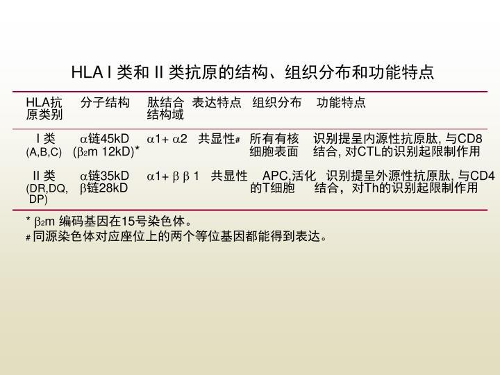 HLA I