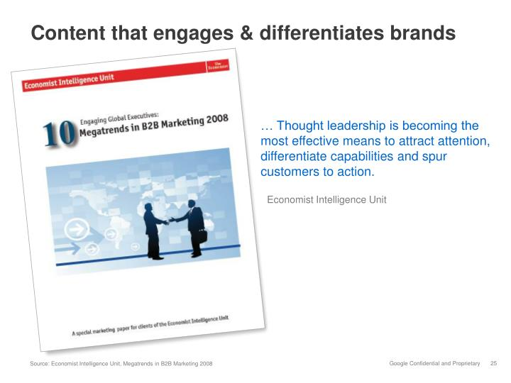 Content that engages & differentiates brands