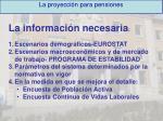 la proyecci n para pensiones10