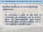 las metodolog as de proyecci n para pensiones3
