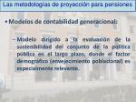 las metodolog as de proyecci n para pensiones5