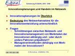 innovationsplanungen und handeln im netzwerk