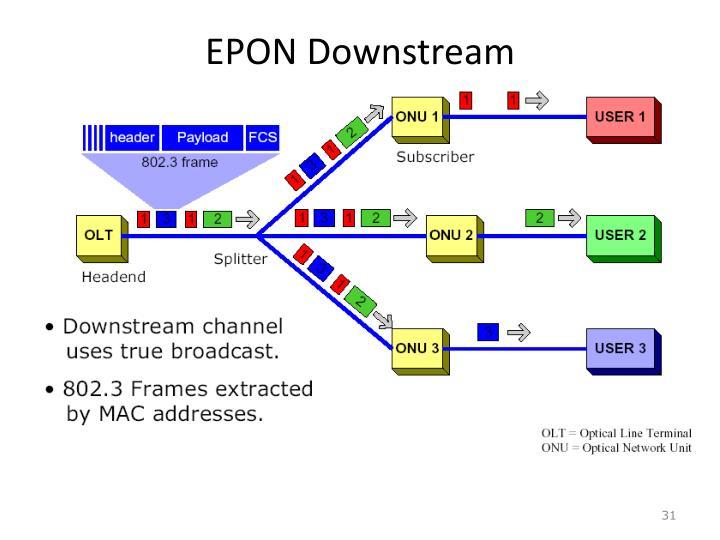EPON Downstream